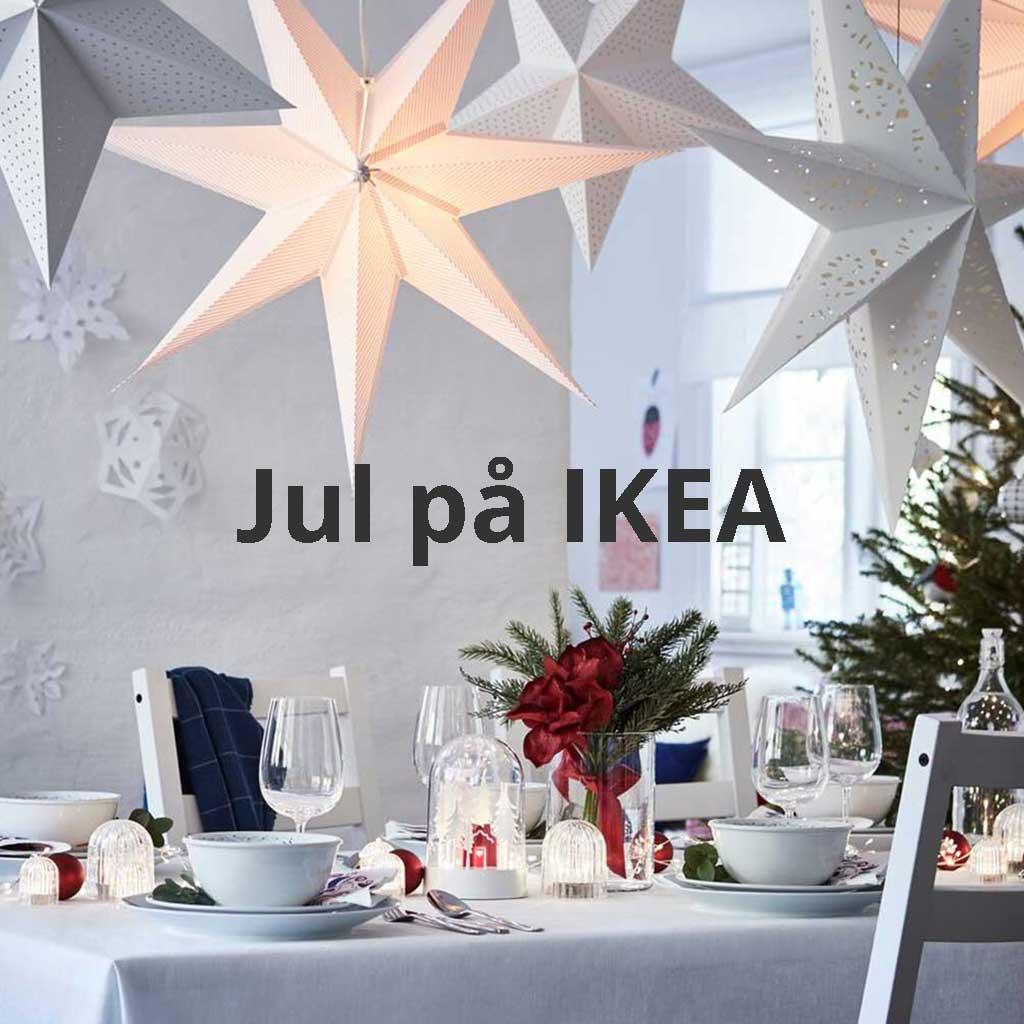 Jul på IKEA.