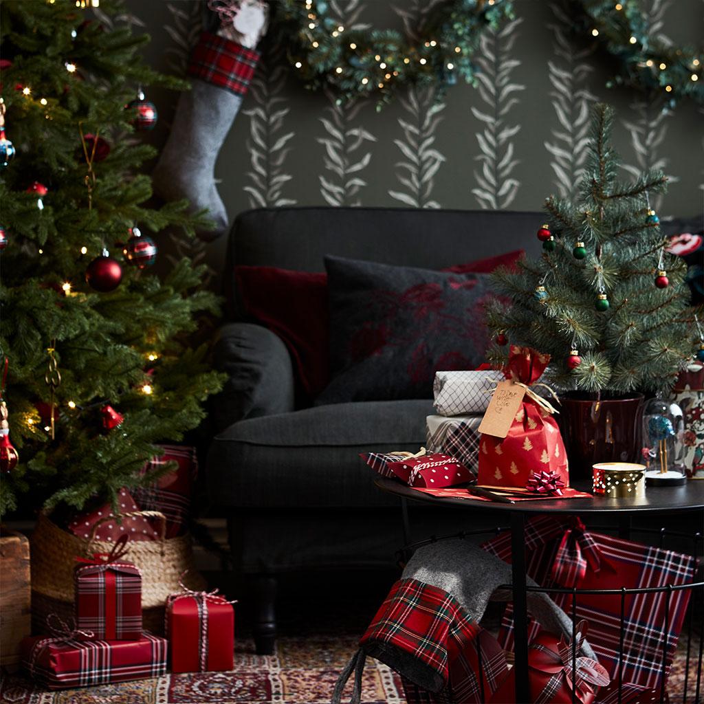 Sofa hjem til jul.