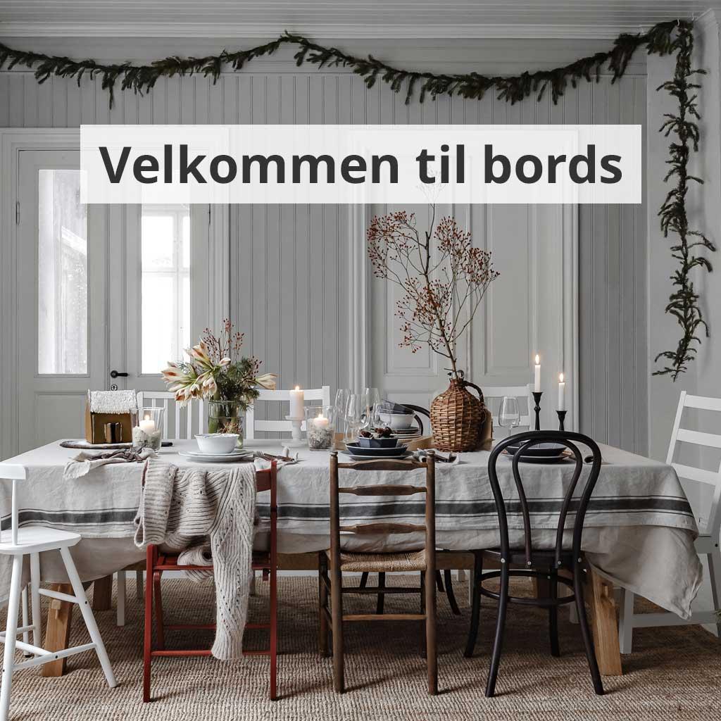 Velkommen til bords.