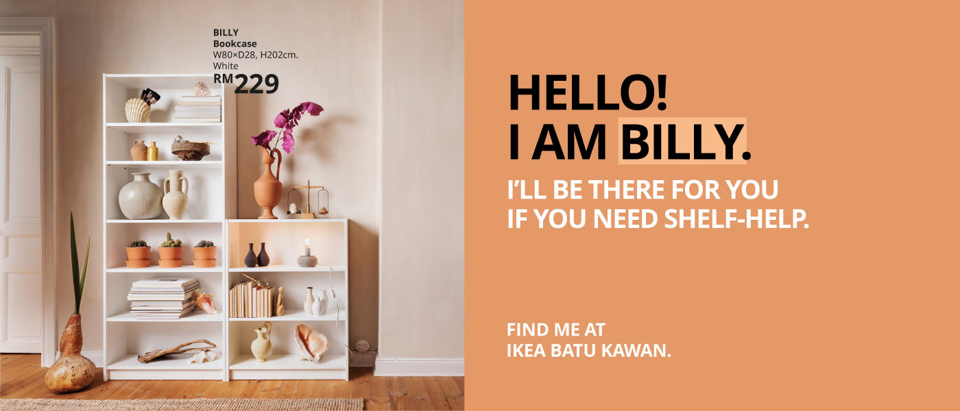 Find all the inspiration you need for your next home make-over at IKEA Batu Kawan, Penang, Malaysia!