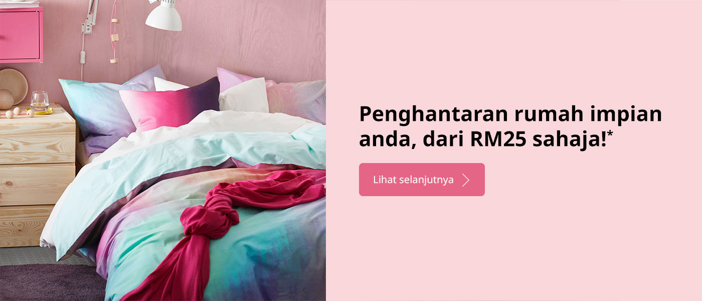 Get your dream home delivered, for only RM25*