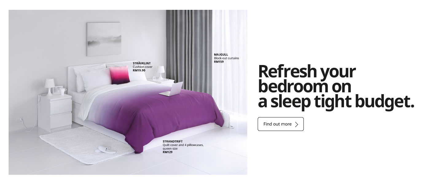 Refresh your bedroom on a tight budget.