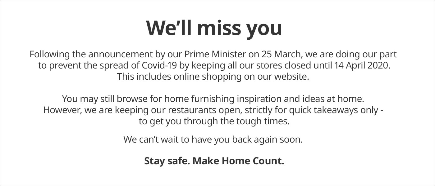 Store and Online Closure