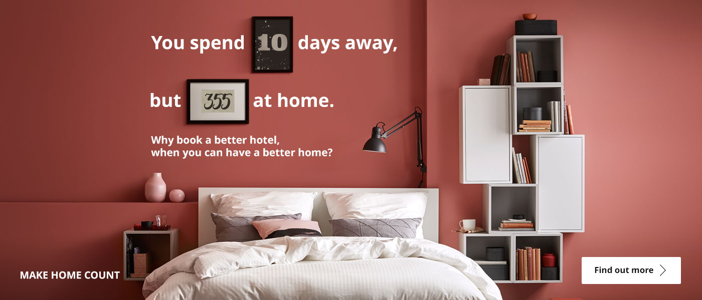 Why book a better hotel, when you can have a better home?