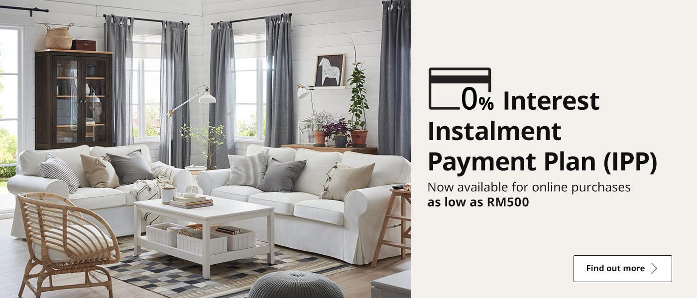 0% Interest Payment Plan (IPP)